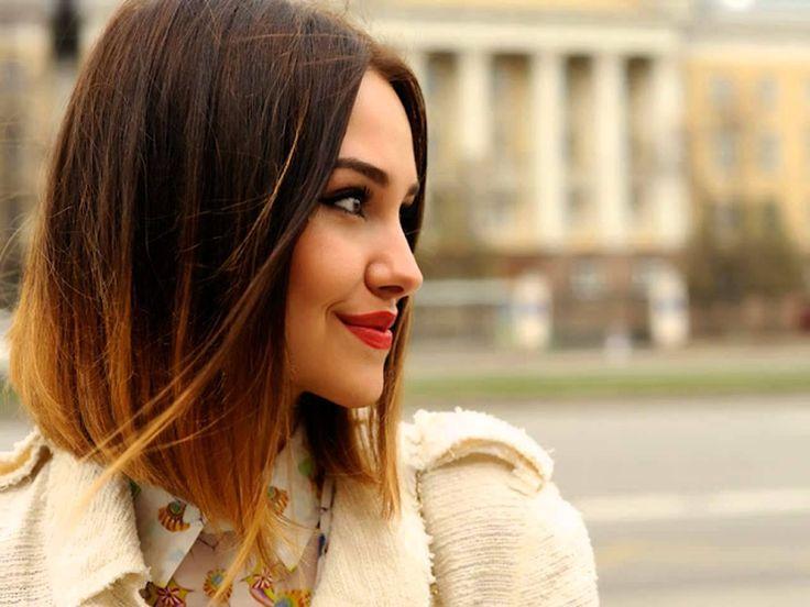 nice Превосходное омбре на короткие волосы (50 фото) — Особенности стильного окрашивания Check more at https://dnevniq.com/ombre-na-korotkie-volosy-foto/
