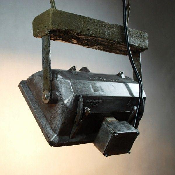 Lampa duża betonową belką!!!
