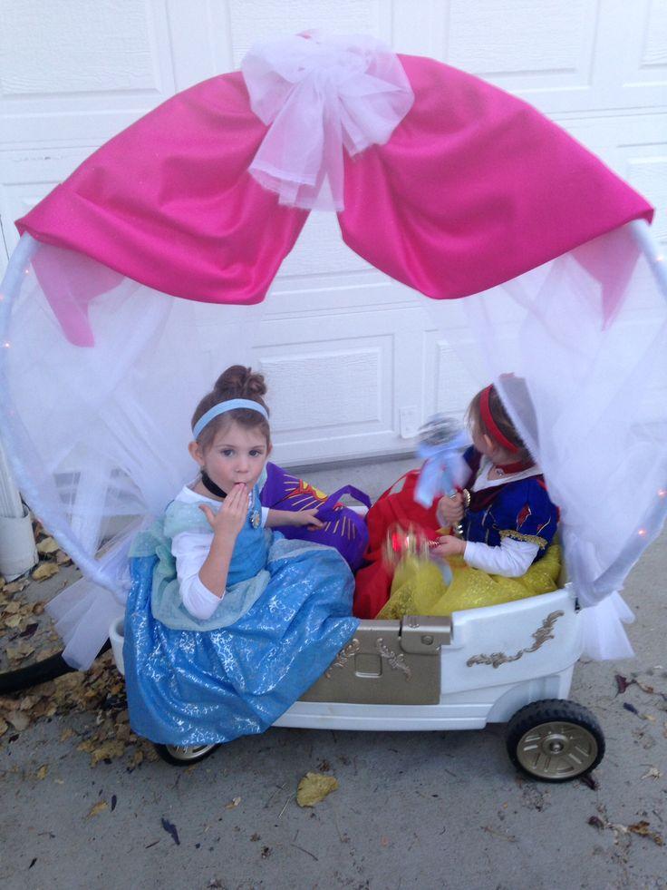 Princess Carriage Diy Wagon Turned Cinderella Carriage
