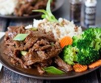 Mongolian Beef Pressure cooked