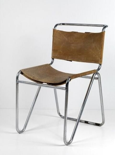 732 best chairs metal tube metal rot and images on for Bauhaus design stoelen