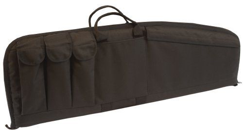 Uncle Mike's Law Enforcement 33-Inch AR15/M4 Tactical Rifle Case with Three Magazine Pouches (Medium, Black) by Uncle Mike's. $30.19. Uncle Mike's Law Enforcement Tactical Rifle Case, 33x10in w/ 3 Magazine Pouches - Black - 52121. Save 11% Off!