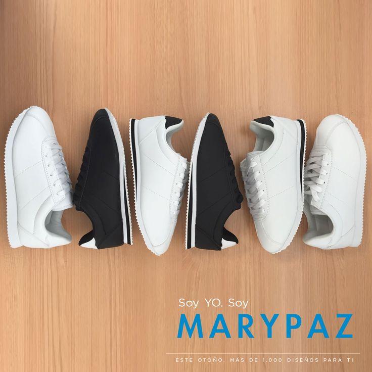Comenzamos la señana con buen pie con las deportivas más trends de MARYPAZ ¿¿Conoces ya toda la colección?? Hazte con esta DEPORTIVA BLANCA O NEGRA aquí ►hhttp://www.marypaz.com/trendy/deportiva-tendencia/deportiva-clasica-01901bhc-160501-74743.html 💕 Soy YO. Soy MARYPAZ 💕 ¡¡Más de mil diseños para ti!! 👠 😍 ¡¡¡ NEW COLLECTION AW/16 BY MARYPAZ !!! 😍 👠 Podrás encontrar el zapato ideal para cada ocasión sea cual sea tu estilo. ¡No te quedes sin tus imprescindibles! #SoyYoSoyMARYPAZ #Foll