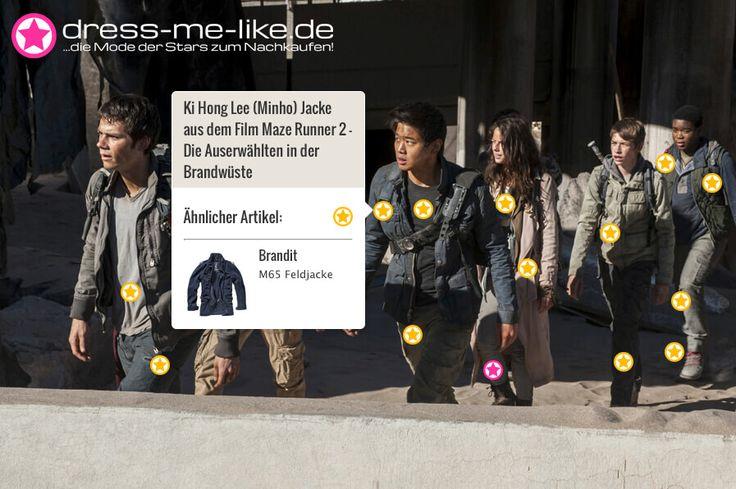 Ki Hong Lee (Minho) Jacke (Brandit - M65 Feldjacke) aus dem Film Maze Runner 2 – Die Auserwählten in der Brandwüste