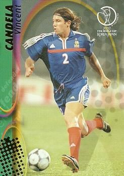2002 Panini World Cup #58 Vincent Candela Front
