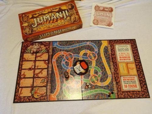 Jumanji Board Game | eBay