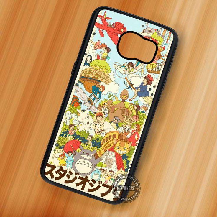 Sutajio Kiki Spirited Away Studio Ghibli - Samsung Galaxy S7 S6 S5 Note 7 Cases & Covers