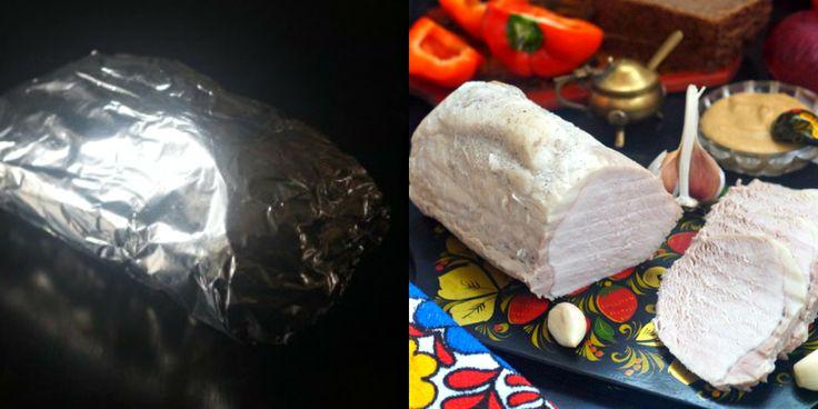 Буженина по-польски без духовки: мясо получается просто сказочное. Сочное и нежное...