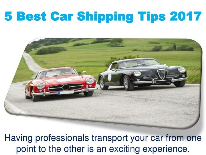 Learn how to ship your car safely and quickly. It is very important for your favorite car. Many car shipping company provides this service, but you can know better which company are the best.
