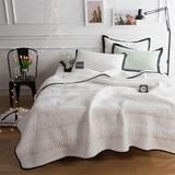 FREE Express Shipping White Quilt Single/twin/Queen Size Summer Blanke – outdoorman.ca