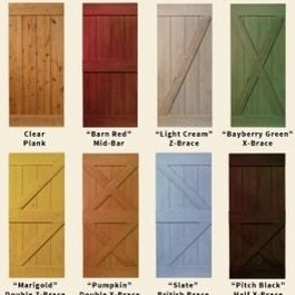 Barn Door Window Shutters | Sliding Barn Doors