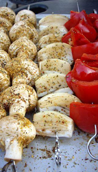 Recette Légumes sur barbecue - Recettes du Québec