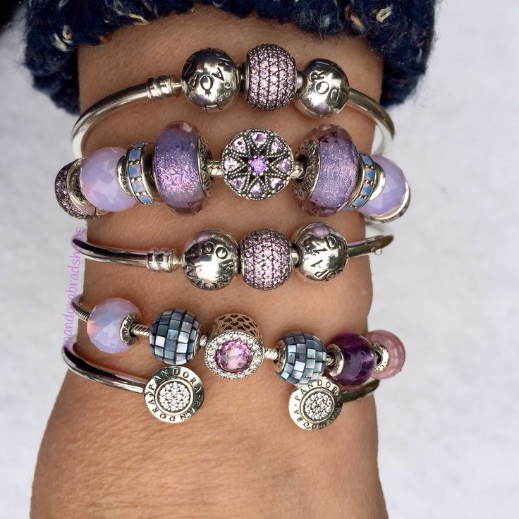 Lovely mauve and pink stack @sarinak23