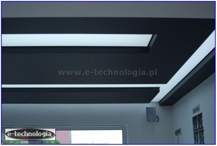 oświetlenie nowoczesnej kuchni - sufit w kuchni - zdjęcia pięknej kuchni e-technologia