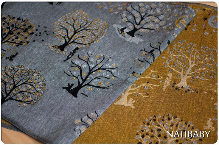 "Natibaby Vivaldi's Inverno ""In the Storm"" Wrap (hemp)"