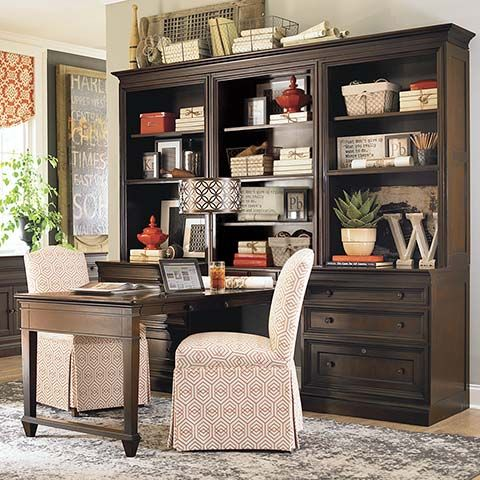 Partner's Desk Bassett Home Furnishings- I'd like this best in black or white