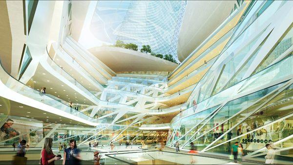 Zhengzhou Mixed Use Development / Trahan Architects - eVolo | Architecture Magazine