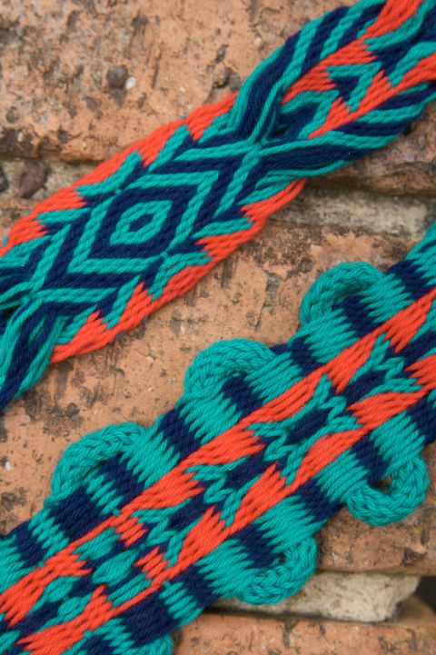 Fascinating blog, and I love these cardwoven bands