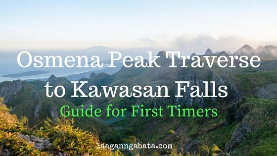 The last time I set foot in Osmena Peak two years ago , I fainted. Not because…