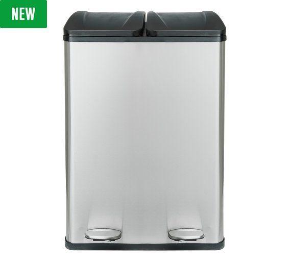 Home 60 Liter 2 Kammer Papierkorb Papierkorb Abfalleimer Kuchengerate