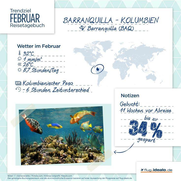 Trendreiseziel Barranquilla in #Kolumbien. Günstige Flüge finden: http://flug.idealo.de/