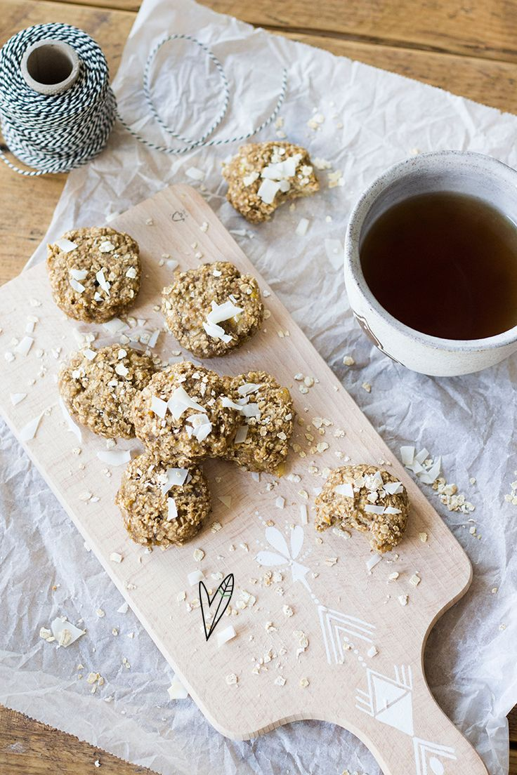 Recept: Oatmeal cookies | The Green Happiness