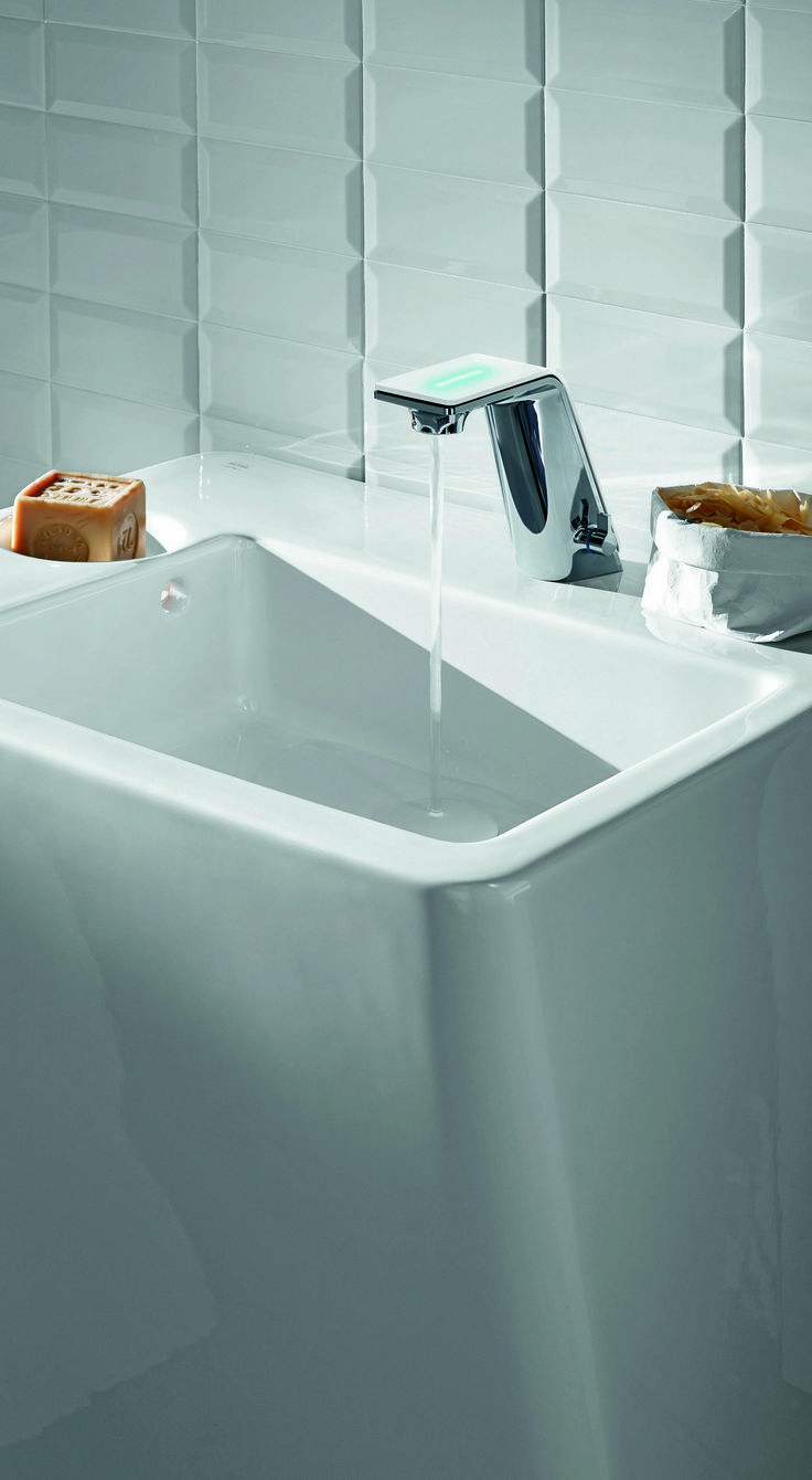 Oras electronic washbasin faucet Alessi Sense 8710F