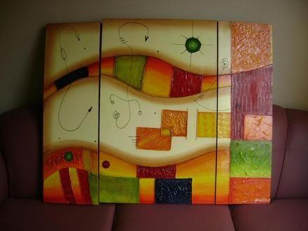 M s de 1000 ideas sobre imagenes de cuadros abstractos en - Cuadros decoracion modernos ...