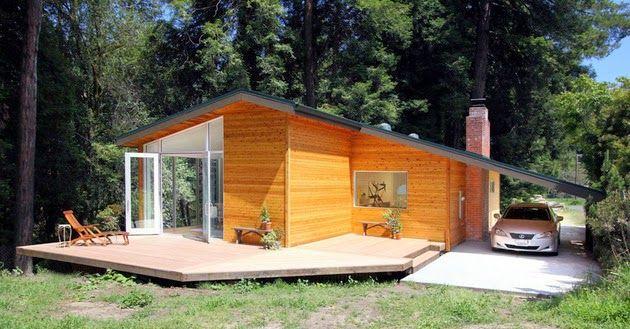 70 Desain Rumah Kayu Minimalis Sederhana dan Klasik   Desainrumahnya.com