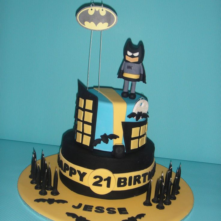 Pin Pin Batman Birthday Cake Ideas For Your Boy Cakes On