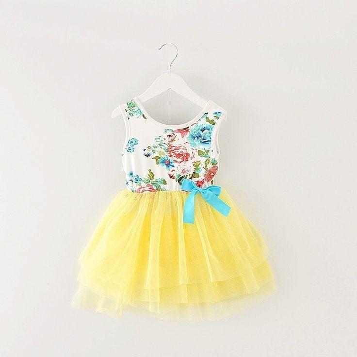 Floral Baby Girl TuTu Dress