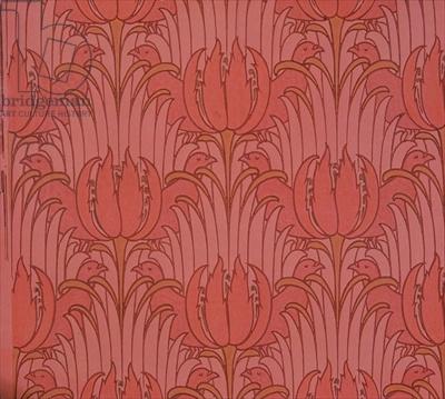 Victorian wallpaper designed by Voysey/ William Morris Gallery