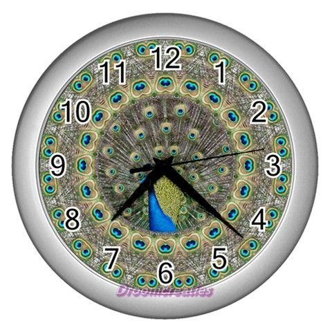 Wall clock Peacock http://www.artravesupercenter.com/droomcreaties/?SectionCode=@Erin Whatley Lockerman