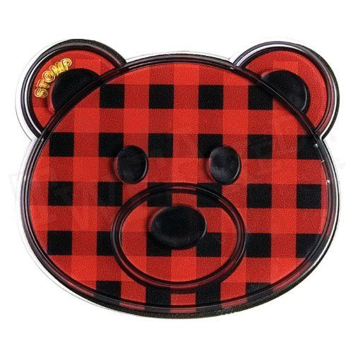 Stomp Design Critters Series Cutie Bear Snowboard Stomp Pad - Buffalo Red by Stomp Design. $17.95. STOMP manufactures quality products with durability and function in mind, but the design has to be sick too! The super popular Critters Series snowboard stomp pads features fully functional traction surfaces matched up with character artwork for a fun and individual expression of you, the rider.