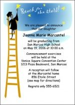 Reach for Success with Your College Graduating Announcements Invites Cards