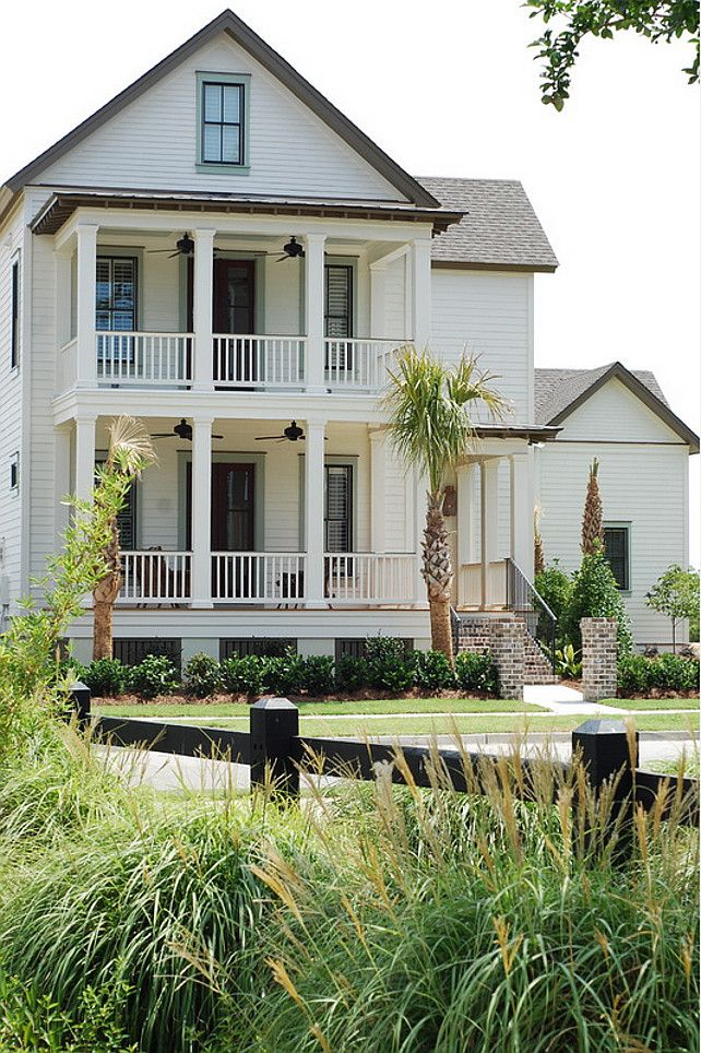 833 best home exterior paint color images on pinterest - Beach house color schemes exterior ...