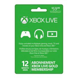 Xbox live 12 month membership