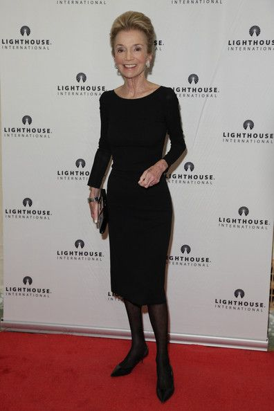 Lee Radziwill attends the kick-off dinner for Lighthouse International's POSH Fashion sale at the Oak Room on May 11, 2010 in New York City....