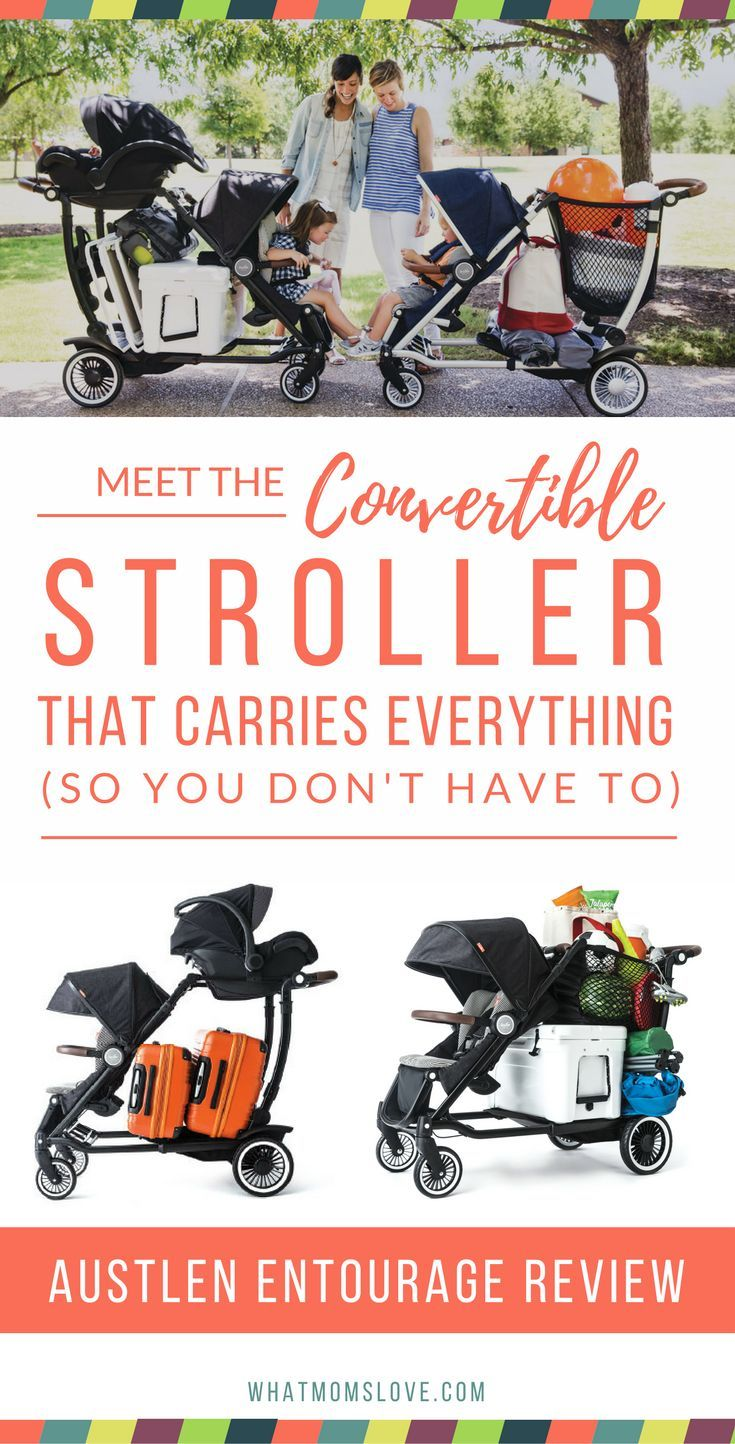 Can you imagine a stroller that can haul 150lbs, transform to 30 different configurations, easily fold (compactly!), and be drop-dead gorgeous? Neither could we – until, that is, we met the hot new set o' wheels that is going to completely revolutionize the stroller market, the Austlen Entourage. It touts the highest versatility, convertibility and storage capacity of any stroller on the planet. Kudos to @austlen!