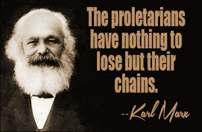 Karl Marx understood the revolutions as class struggle.  He published The Communist Manifesto in 1848, and developed his Conflict Theory in part in response to what he saw then.  He believed he was witnessing the birth of a new world, and perhaps he was.