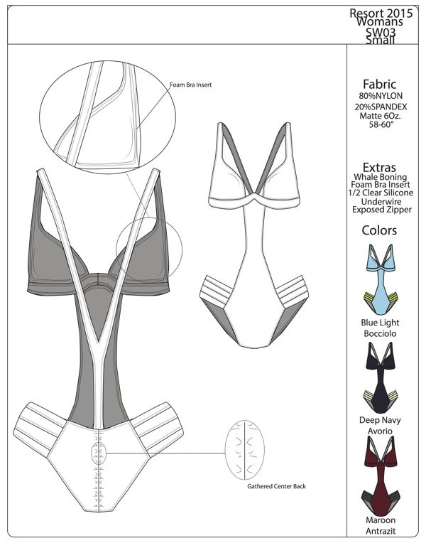 Fashion technical drawing - tech pack - Heliophilia on Behance