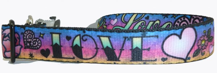Pets and Purses - Tattoo Love and Hearts Pink or Purple Dog Collar Seat Belt Buckle Style, $18.00 (http://www.petsandpurses.com/tattoo-love-and-hearts-pink-or-purple-dog-collar-seat-belt-buckle-style/)