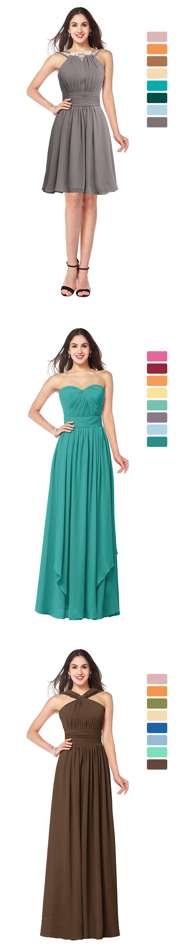 133 best Bridesmaid Dresses images by ColorsBridesmaid on Pinterest