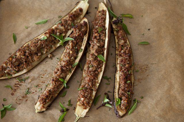 , Eggplants, Stuffed Miso, Miso Eggplant, Eggplant Recipes, Eggplant ...