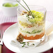 Rezept: Chinakohl Schichtsalat