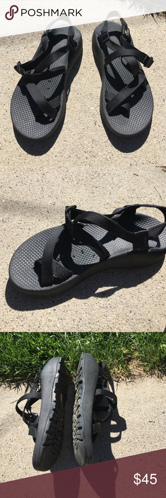 Chaco black Worn but still in great shape Chaco Shoes Sandals