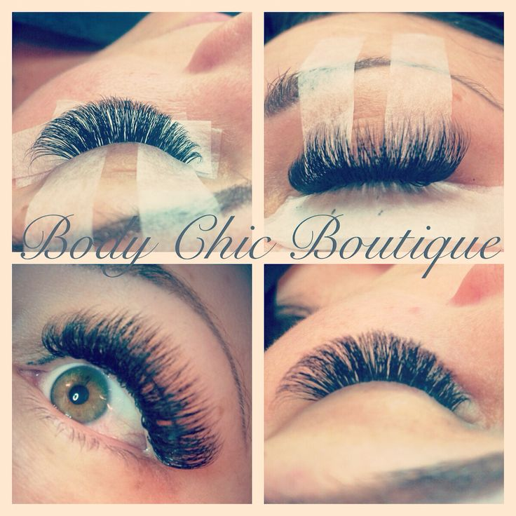 Views of volume lashes