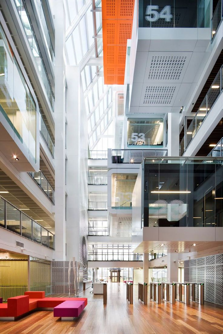 One Shelley Street Office Interior : By Clive Wilkinson Architects ~ HouseVariety