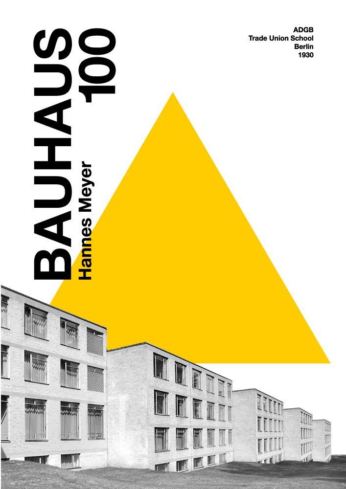 Hannes Meyer Adgb School Building Berlin 1930 Bauhaus 100