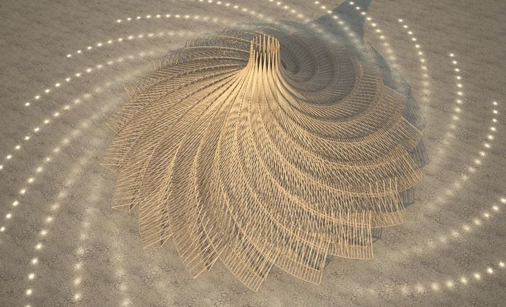 Burning Man Selects Design for 2018 Temple